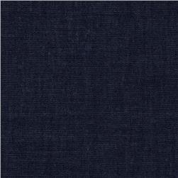 Kaufman Cotton Rayon Chambray Twill Indigo Fabric