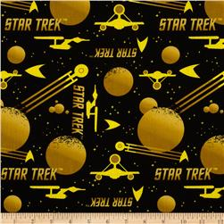 Star Trek Silhouettes Yellow