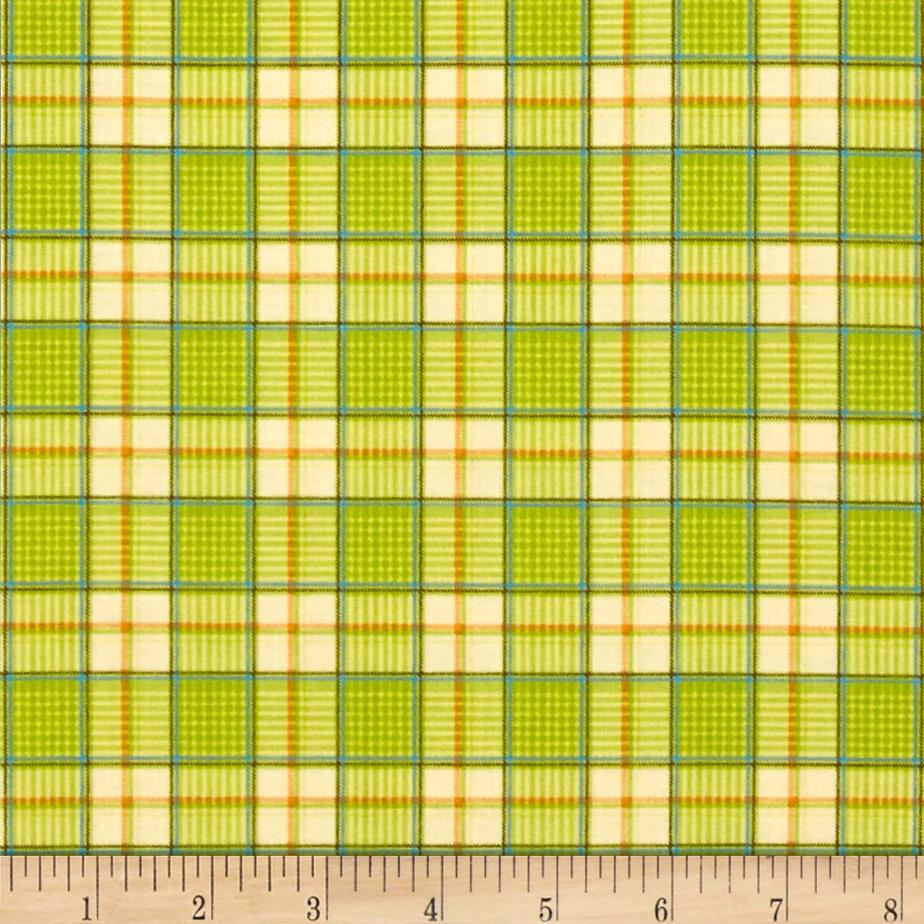 Rest Your Head Plaid Green