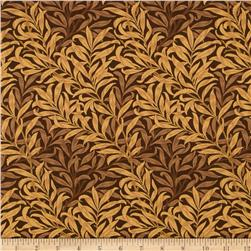 Moda Best of Morris Willow Boughs Brown