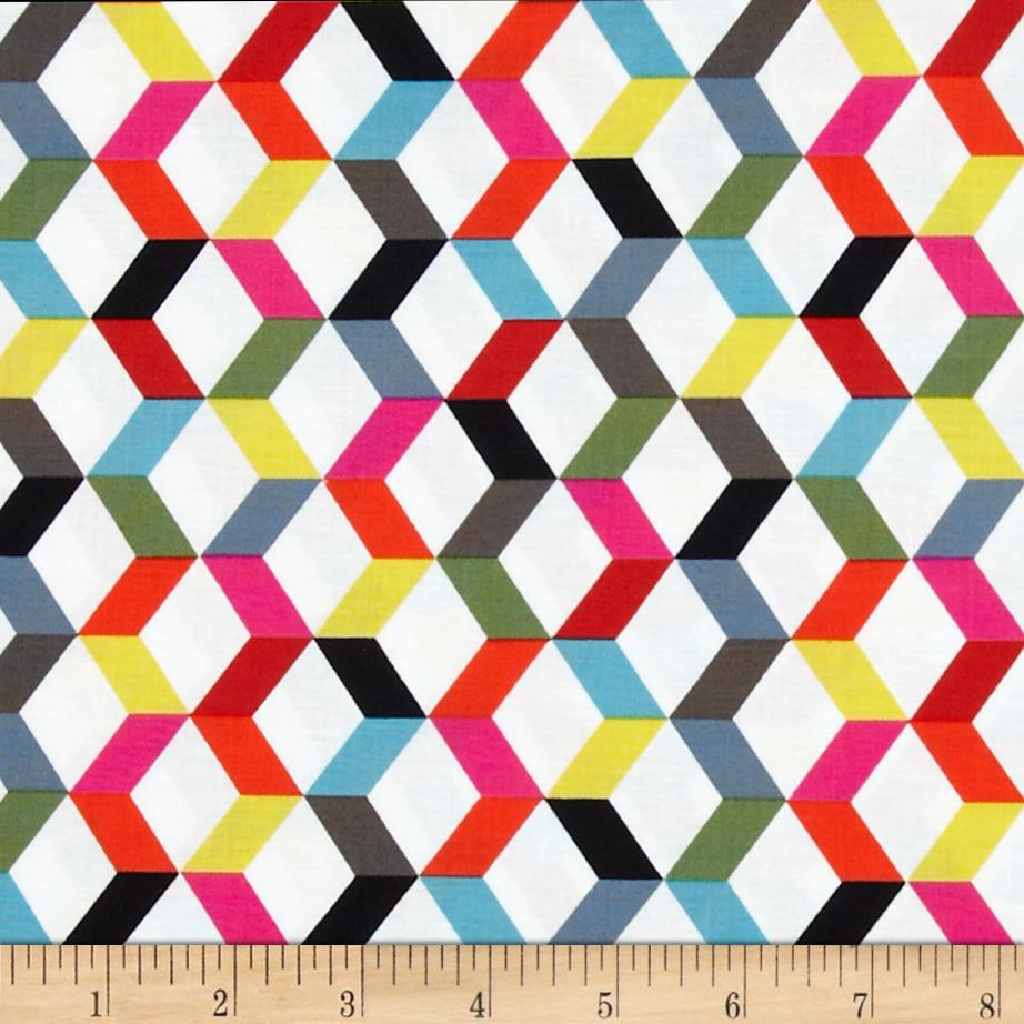 Ziggy Chevron Mini Multi Colored