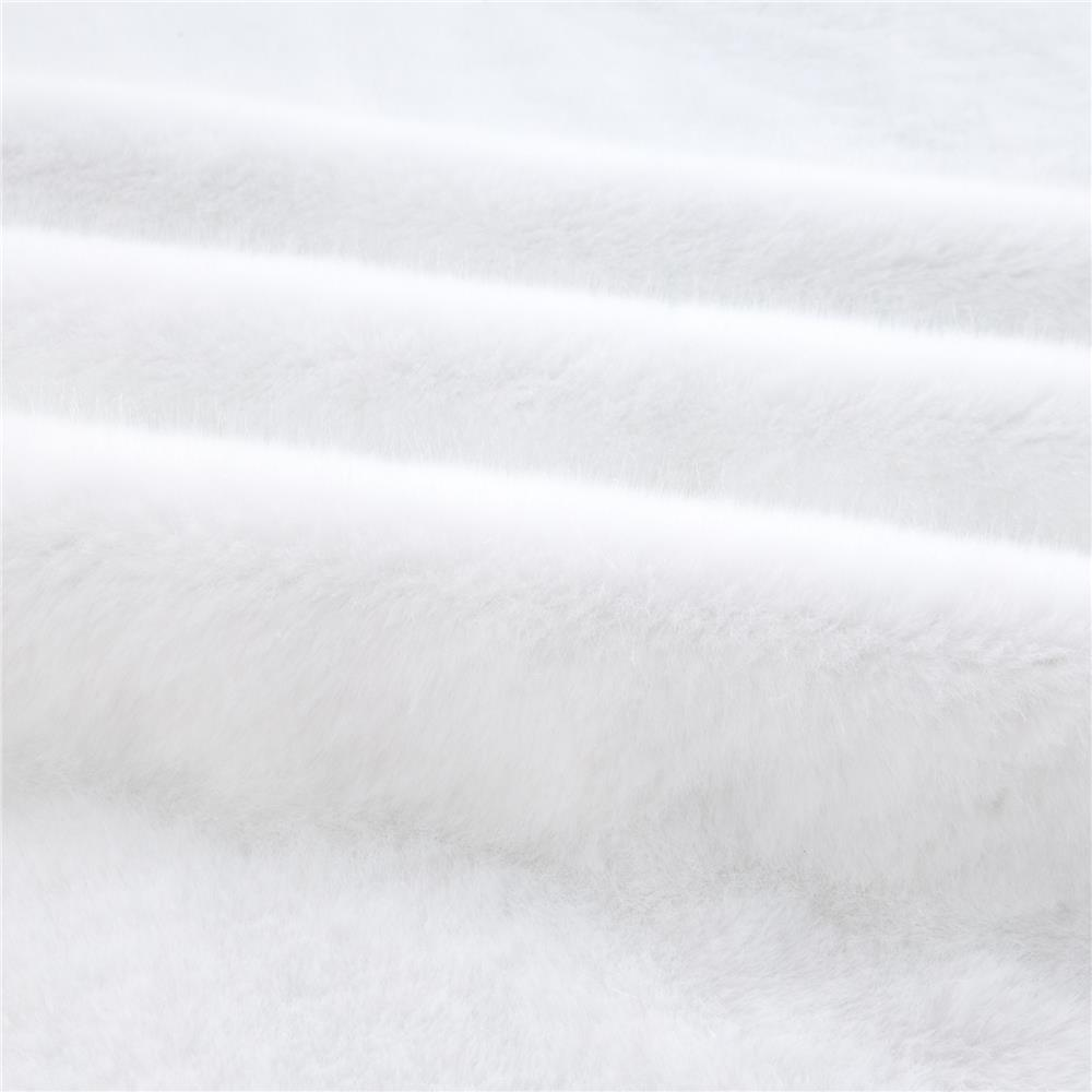 Faux Fur Sable White