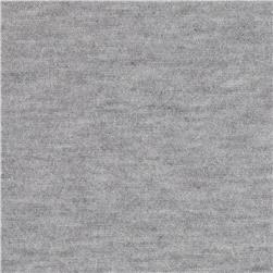 Stretch Tissue Rayon Jersey Knit Heather Grey