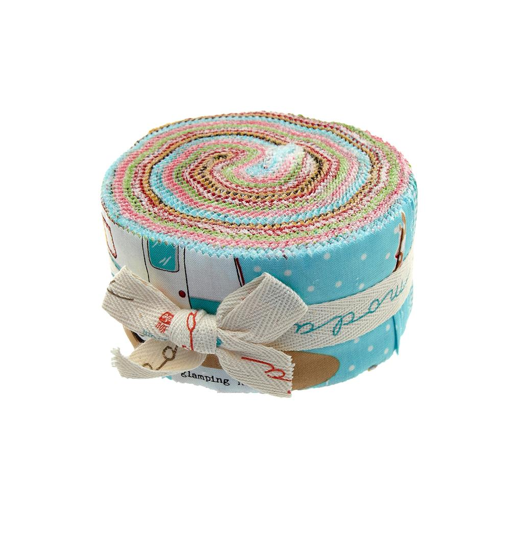 Moda Glamping 2 1/2'' Jelly Roll