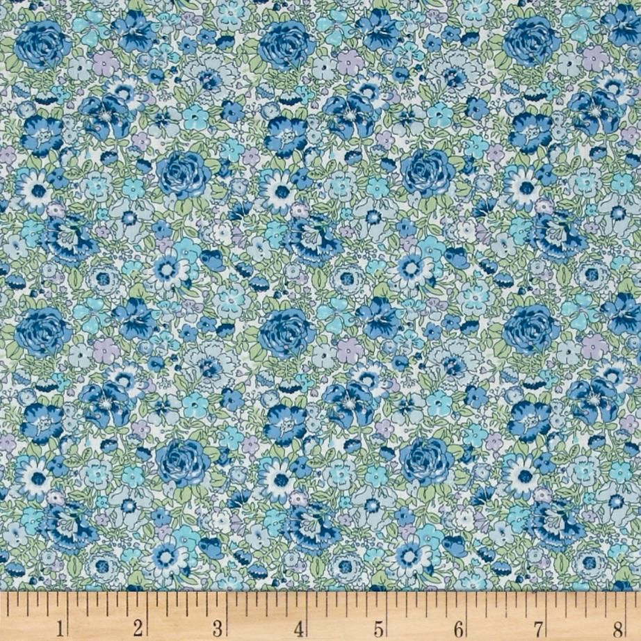 Liberty of London Classic Tana Lawn Amelie Blue/Green