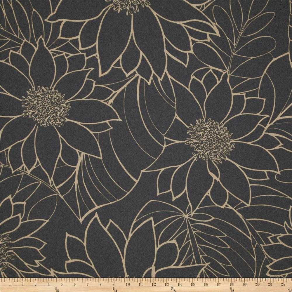 Tempo Indoor/Outdoor Large Floral Graphite