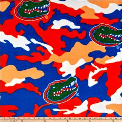 University of Florida Fleece Camo Orange/Blue