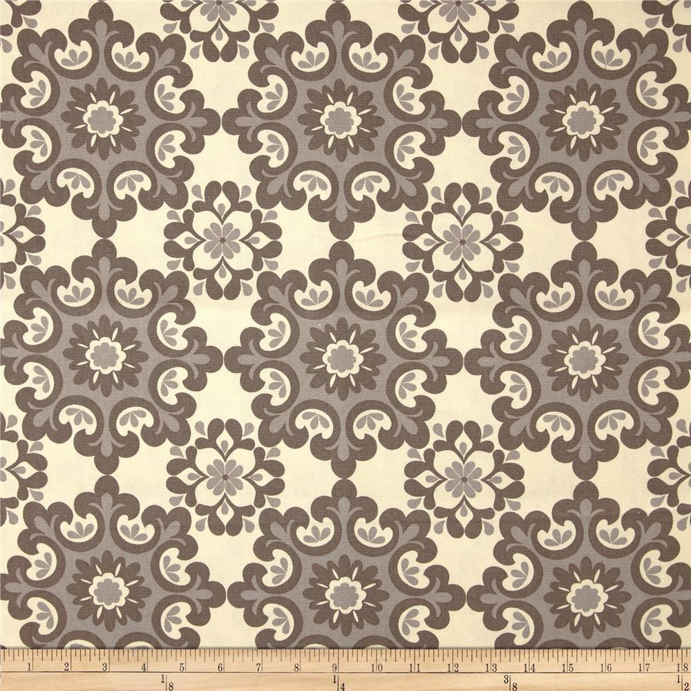 Riley Blake Home Décor Ornate Damask Grey