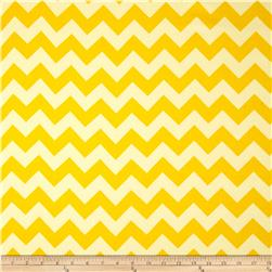Riley Blake Home Décor Chevron Yellow