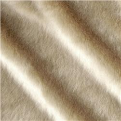 Tissavel Luxury Faux Volga Fur Taupe