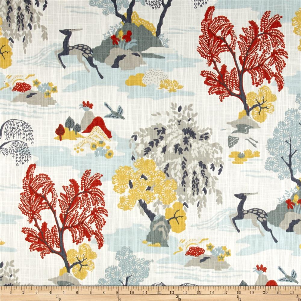 Perfect Dwell Studio Modern Toile Persimmon   Discount Designer Fabric   Fabric.com Part 6