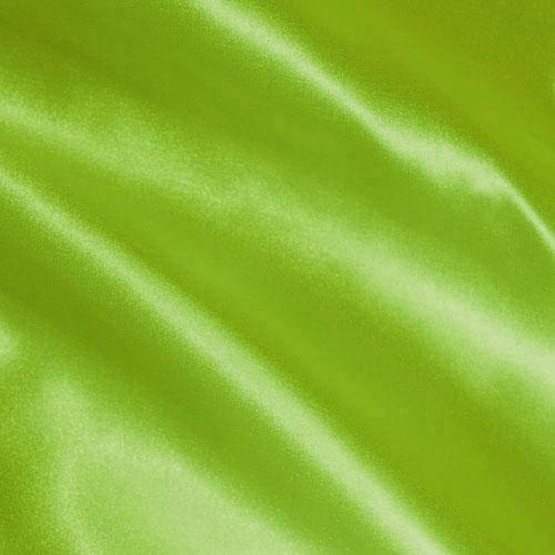 Charmeuse Satin Lime Green