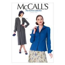 McCall's Misses' Jackets Pattern M6995 Size A50