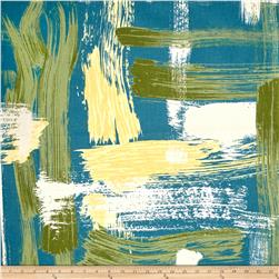 Robert Allen @ Home Sedge Abstract Turquoise