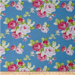 Tanya Whelan Sadie's Dance Card Big Rose Blue