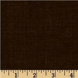 Timeless Treasures Sketch Flannel Coffee Fabric