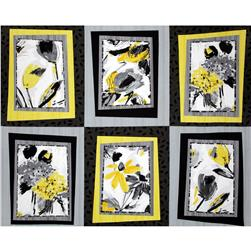 Contempo Cosmopolitan Picture Frames Yellow