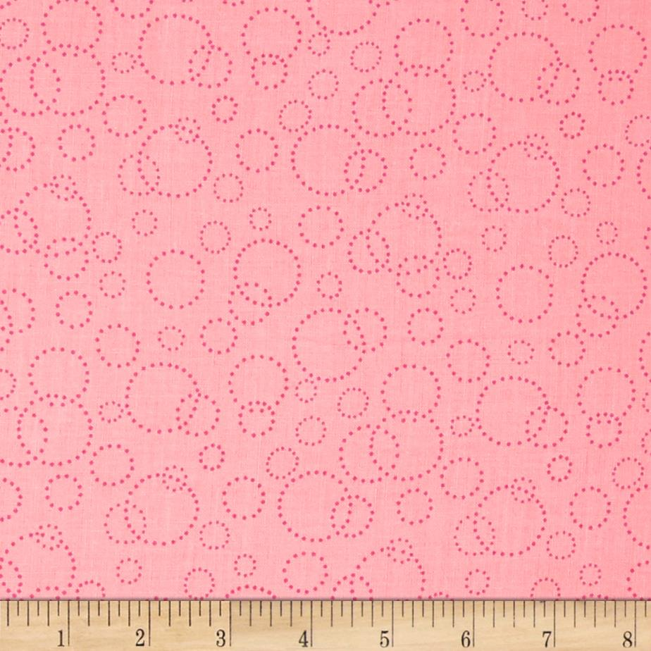 "110"" Wide Quilt Back Champagne Pink"