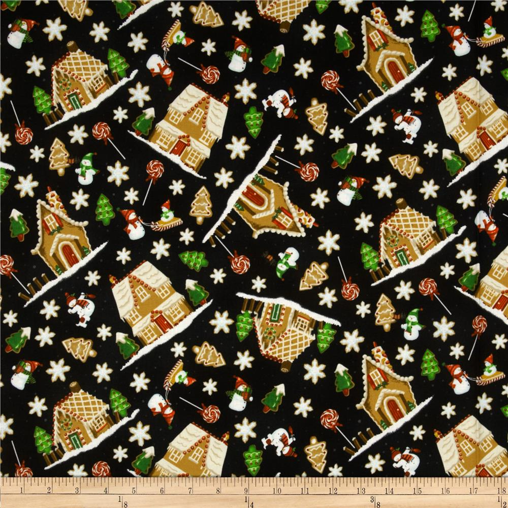 A Gingerbread Christmas Gingerbread Toss Black