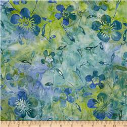 Indian Batiks Dogwood Lagoon