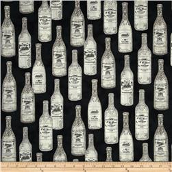 Robert Kaufman Vineyard Wine Bottles Antique