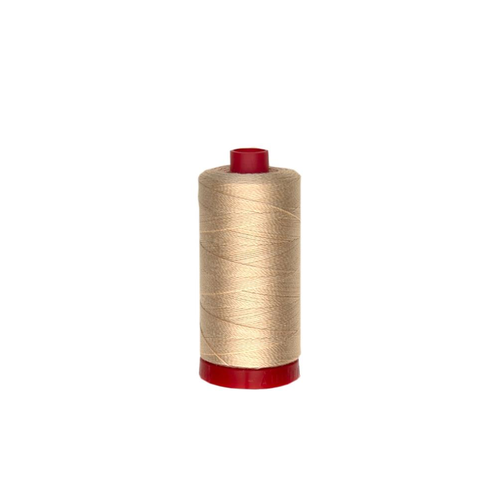 Aurifil 12wt Embellishment and Sashiko Thread Pale Flesh