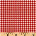 Farm Friends Plaid Red