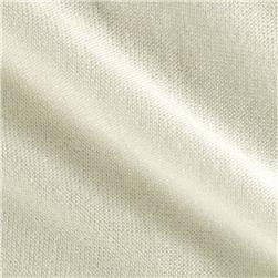 Stretch Tissue Jersey Sweater Knit Paper White