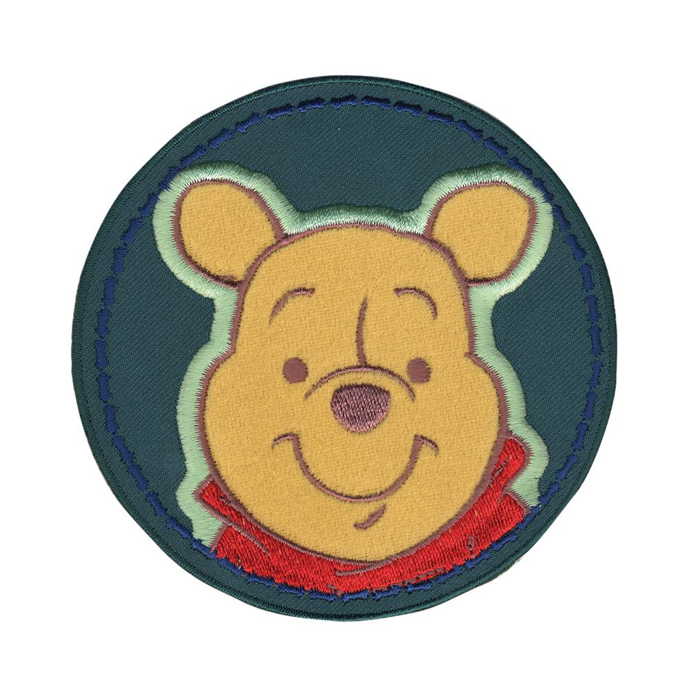 Disney Winnie The Pooh Pooh In Circle Iron On Applique