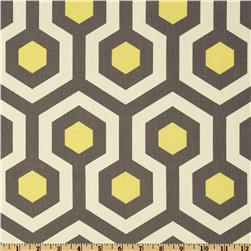 Premier Prints Magna Lemon/Natural Fabric
