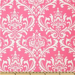 Premier Prints Ozborne Candy Pink/White Fabric