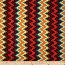 Michael Miller Painted Desert Ikat Chevron Ranch