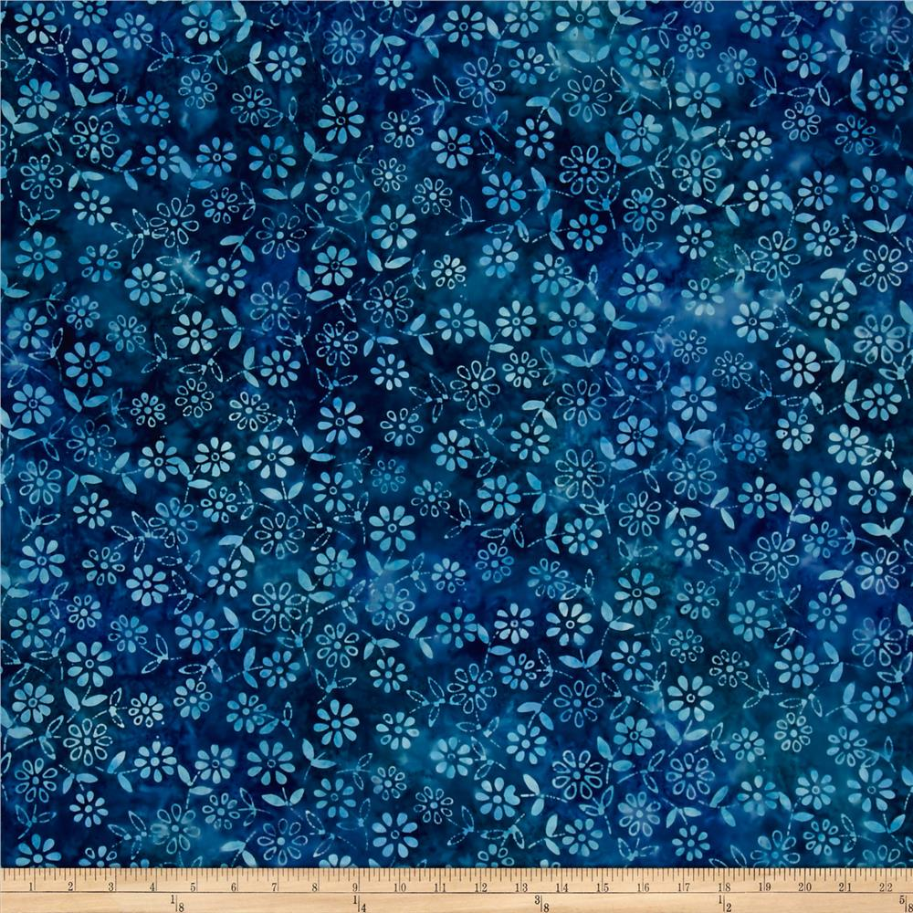 Anthology Batik Floral Blue/Blue