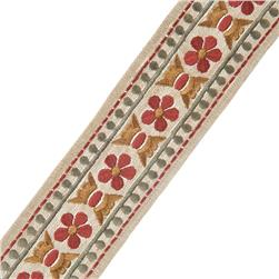"French General 2.75"" Trianon Trim Rouge"