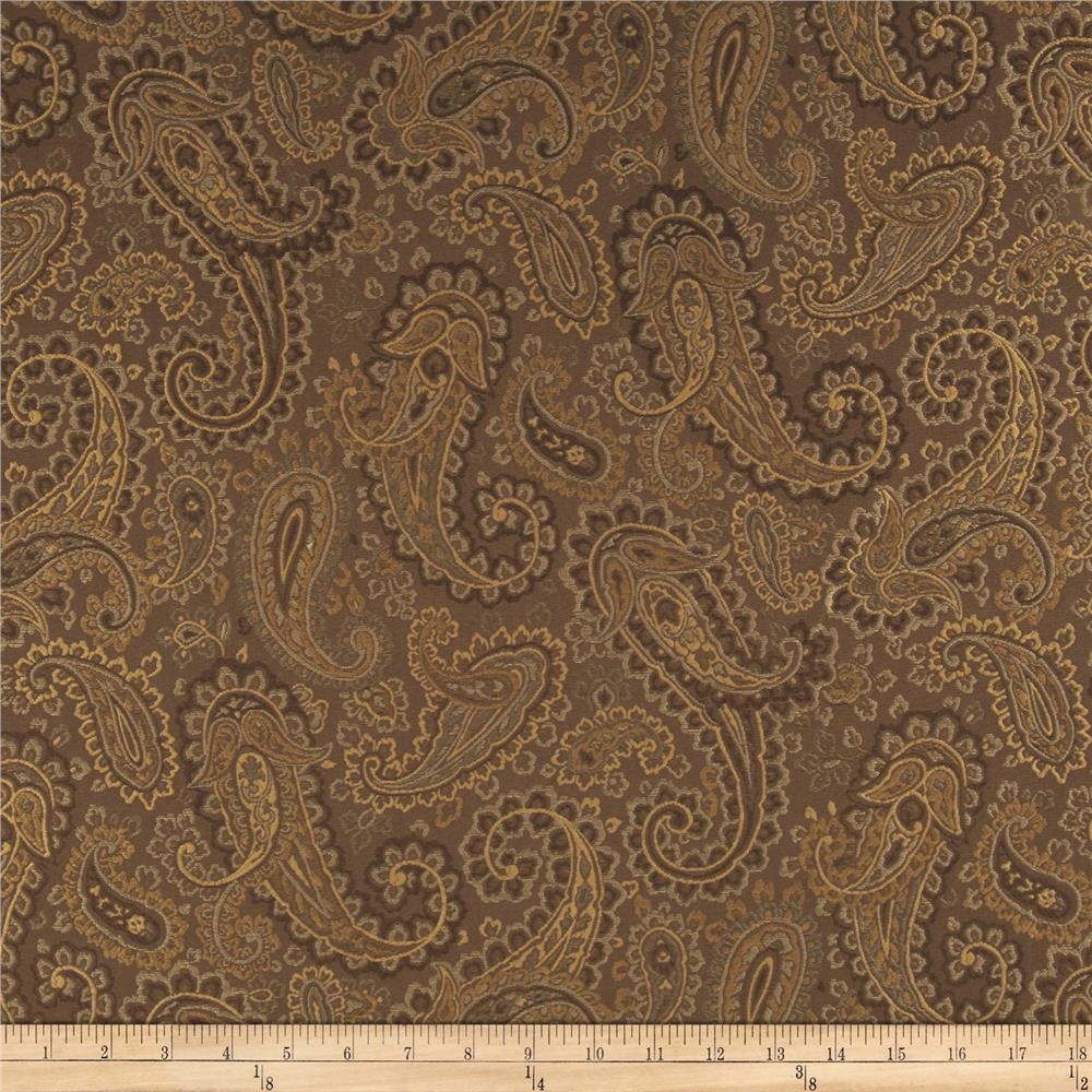 Richloom Akron Jacquard Chocolate