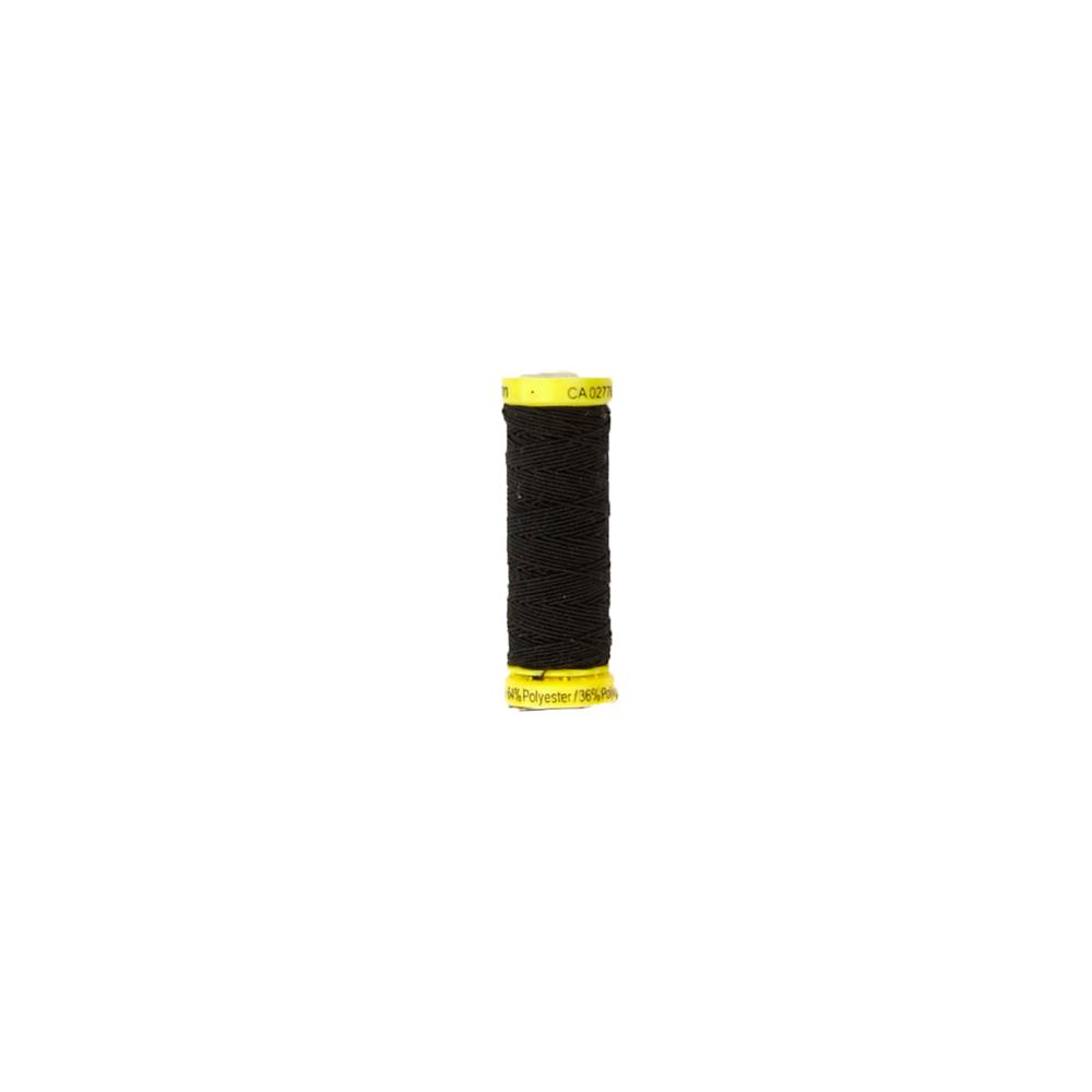 Gutermann Elastic Thread Black