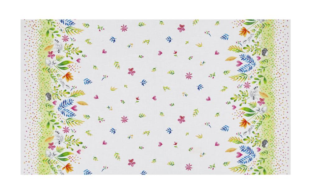 Michael Miller Frolic Frolic Double Border Spring Fabric