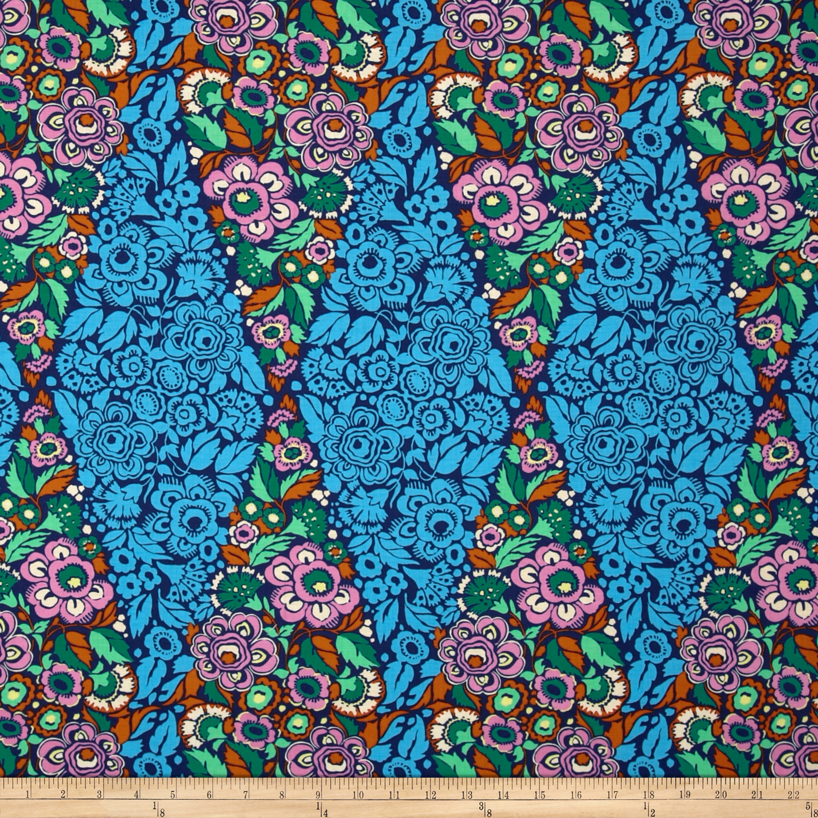 Amy Butler Hapi Trapeze Ink Fabric
