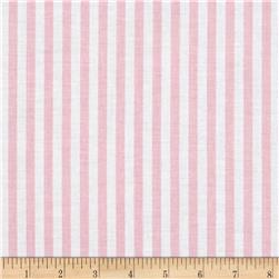 "Riley Blake 1/4"" Stripes Baby Pink"