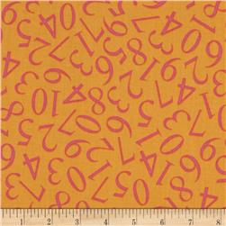 Alphabet Soup Tonal Numbers Orange