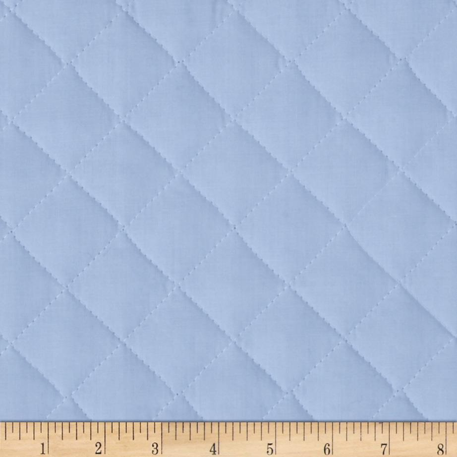 Double Sided Quilted Broadcloth Rock-A-Bye Blue Fabric