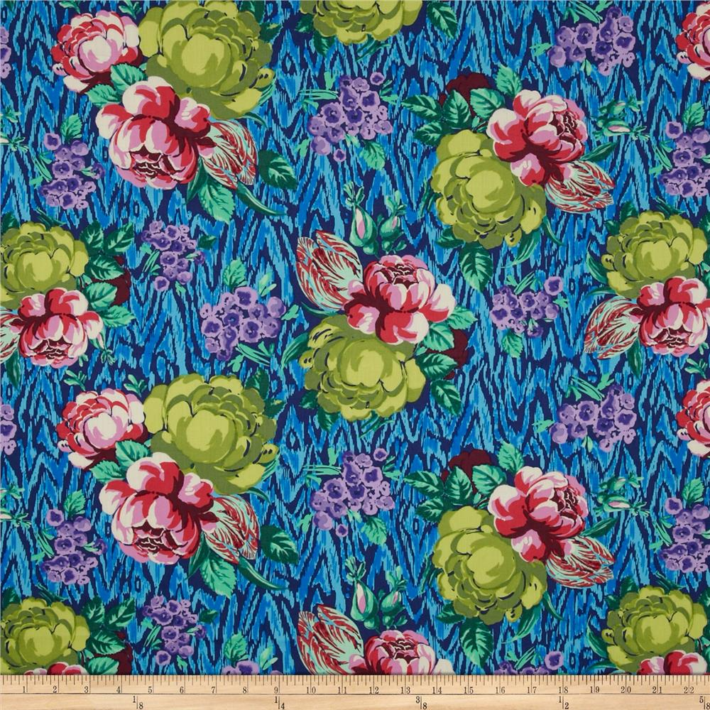 Amy Butler Hapi Voile Tapestry Rose Sapphire