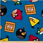 Angry Birds Fleece TNT Blue