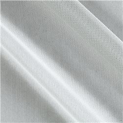 Spandex Stretch Illusion Shaper Mesh Silver