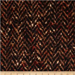 ITY Knit Herringbone Brown/Orange/Beige