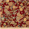 LaScala 5 Metallics Flower Medallion Spice