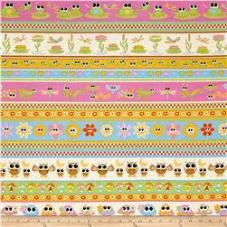 Pond Friends Repeating Stripe Multi
