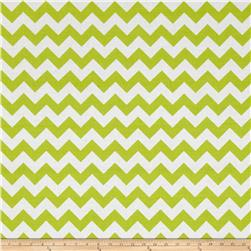 "Riley Blake 108"" Wide Medium Chevron Lime"
