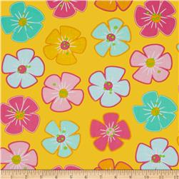 Moda Giggles Flower Giggles Bang Yellow