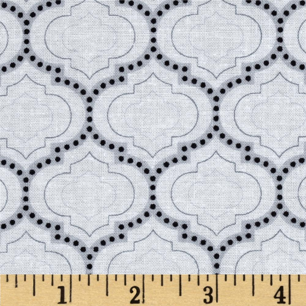 Madison Geometric Medallions Grey